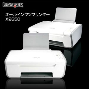 LEXMARK オールインワンプリンター X2650 - 拡大画像