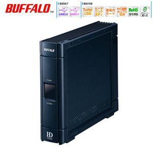 BUFFALO 500GB外付けHDD HD-ES500U2 - 拡大画像