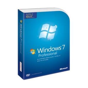 Microsoft(マイクロソフト)  Windows 7 Professional アップグレード版 - 拡大画像