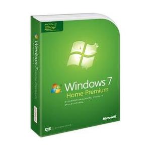 Microsoft(マイクロソフト) Windows 7 Home Premium パッケージ版 - 拡大画像