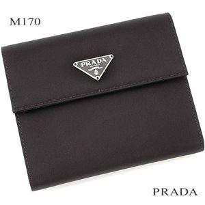 PRADA(プラダ) 財布 M170 ブラック - 拡大画像