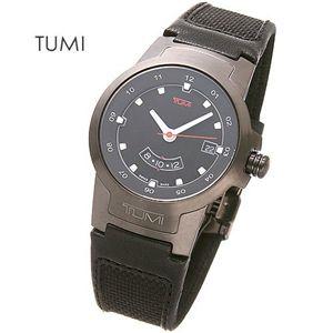 TUMI(トゥミー)I ブラックベルトウォッチ 014526BLT - 拡大画像