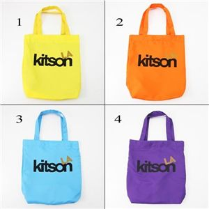KITSON(キットソン) エコバッグ YELLOW 1 - 拡大画像
