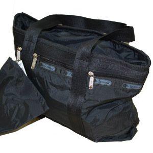 LeSportsac(レスポートサック) スモールトラベルトート 7004 Small Travel Tote 5202 ブラック - 拡大画像