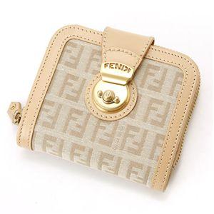 FENDI(フェンディ) 財布 8M0118 LJA AY2・ベージュ - 拡大画像