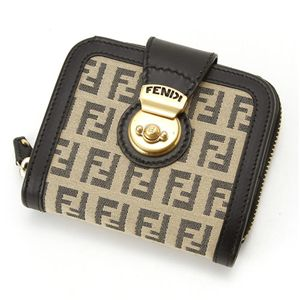 FENDI(フェンディ) 財布 8M0118 LJA VU0・ベージュ×グレー - 拡大画像