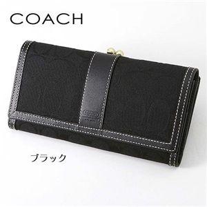 COACH(コーチ) 長財布 6769 ブラック(B4/BK) - 拡大画像