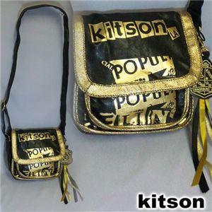 kitson(キットソン) PAMELA SHOULDER BAG Black/Gold - 拡大画像