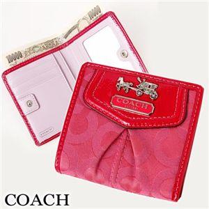 COACH(コーチ) オプアート スモール 財布 43255 SV/RA - 拡大画像