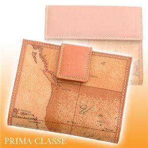 PRIMA CLASSE(プリマクラッセ) ダブルホック財布 9006 Beige - 拡大画像