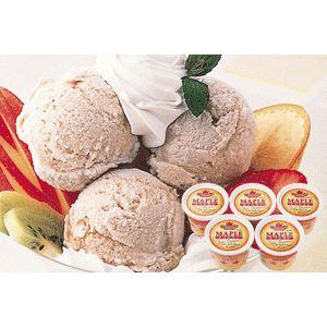 ピュアメープルシロップアイスクリーム 5個セット - 拡大画像