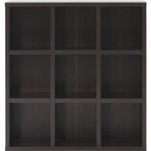 レガール 収納棚(収納ラック) 【3段 幅広】 幅104.5cm×奥行29.5cm RG-1012 ブラウン【組立品】