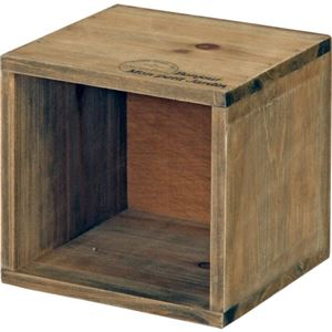 木製CDボックスmoku ブラウン 【3個セット】 - 拡大画像