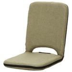 座椅子/パーソナルチェア 【グリーン】 幅40cm リクライニング 『2 PACK シオン』 【4個セット】