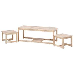 Natural Signature ネストテーブル(テーブル(大)×1、テーブル(小)×2)