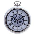 掛け時計 ギア L Φ52cm クリーム