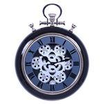 掛け時計 ギア S Φ31cm ブラック