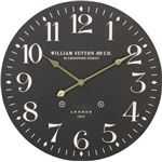 掛時計 LONDON 1894 Φ60cm ブラック