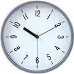 掛時計 ハリー Φ22cm グレイ(GY)(99040)【3個セット】