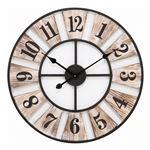 掛時計 ウッドデッキ Φ60cm