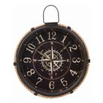掛時計 コンパス Φ47cm ブラック