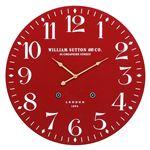 掛時計 LONDON 1894 Φ60cm レッド