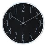 掛時計 ラーク Φ25cm BK ブラック(99021)【3個セット】