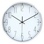 掛時計 ラーク Φ25cm WH ホワイト(99022)【3個セット】