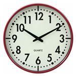 掛時計 アリス Φ37cm RD レッド(99035)【3個セット】
