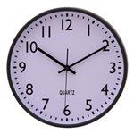 掛時計 インデックス Φ30cm ブラック(BK)