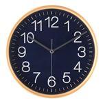 掛時計 プライウッド Φ28cmネイビー(NV)