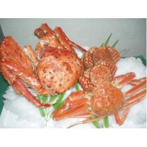 豪華!北海3大蟹セット - 拡大画像