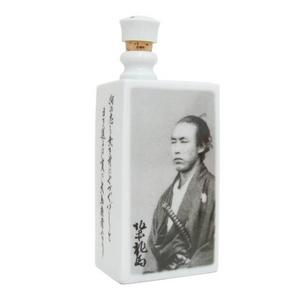 有田焼 角瓶(デカンタ) 幕末シリーズ 坂本龍馬 - 拡大画像