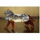 クリスタル タイガー 置物 CT006 - 縮小画像1
