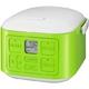 サンヨー 3合炊飯器 vita cube ECJ-XQ30 グリーン - 縮小画像2