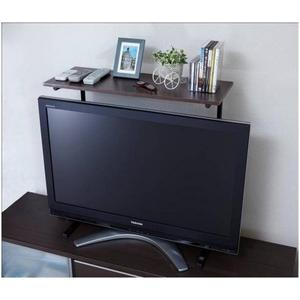 スライド式 薄型テレビ用ラック (32-52型対応) - 拡大画像