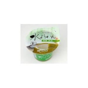 あんこ屋さんが作った水ようかん(有機抹茶)88g×24個 - 拡大画像