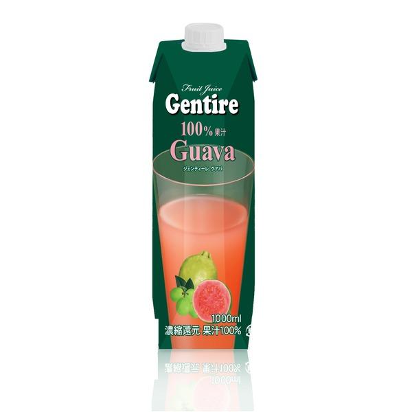 Gentire(ジェンティーレ) グァバジュース 1L×6本