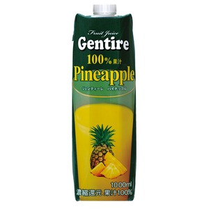 Gentire(ジェンティーレ) パイナップルジュース 1L×6本  - 拡大画像