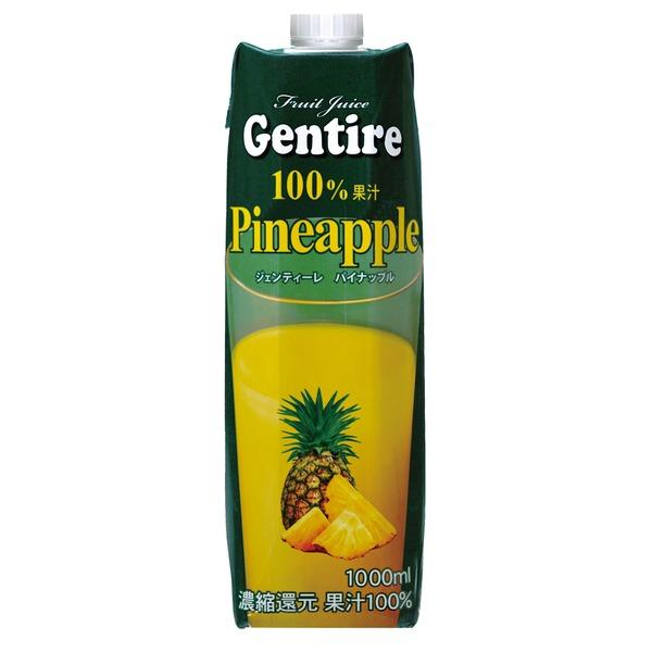 Gentire(ジェンティーレ) パイナップルジュース 1L×6本