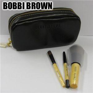 BOBBI BROWN(ボビーブラウン)ポーチ 携帯用ミニブラシセット ブラック - 拡大画像