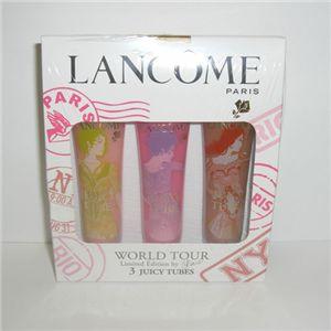 LANCOME(ランコム) ジューシー チューブ ワールドツアー 3個セット - 拡大画像