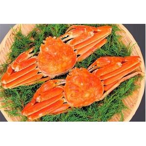 【北海道産】身入りたっぷり!ボリューム満点!蟹の女王まるごとずわいがに(ボイル) 約800g×2ハイ - 拡大画像
