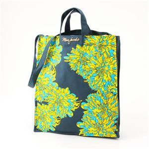 MARC BY MARC JACOBS(マークバイマークジェイコブス) ダブルハンドル トートバッグ Flower Tote Green/Ocean(117563) - 拡大画像