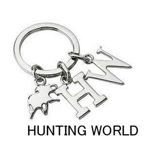 HUNTING WORLD(ハンティングワールド) KEY RING キーリング(キーホルダー) - 拡大画像