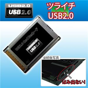 USBカード ツライチ USB2.0 - 拡大画像