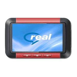 3インチ液晶 MP3/MP4プレーヤー 8GB F098 レッド - 拡大画像