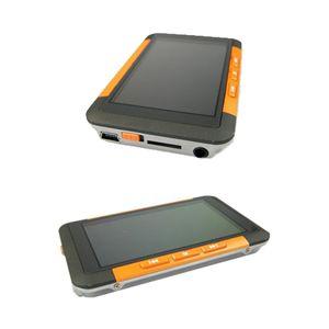 3インチ液晶 MP3/MP4プレーヤー 8GB F098 オレンジ - 拡大画像