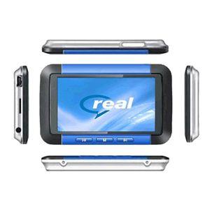 デジカメ搭載 8GB内蔵MP5プレーヤー F099 ブルー - 拡大画像