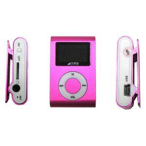 超小型MicroSD挿入型MP3プレーヤー PI(ピンク) - 拡大画像